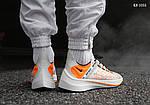 Мужские кроссовки Nike EXP-X14 (бело-оранжевые), фото 2