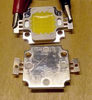 Мощный светодиод 10 Вт 10В 900мА белый (холодный; теплый)
