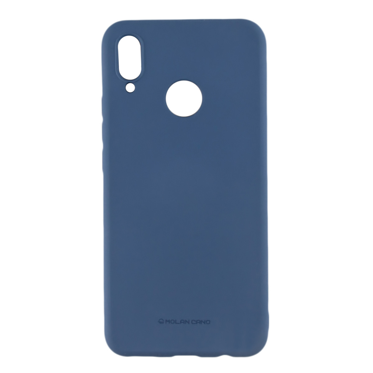 Силиконовый чехол накладка Molan Cano Jelly Case для Huawei P Smart Plus (INE-LX1) (blue)