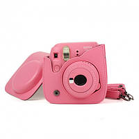 Дорожная Сумка-Кейс для Камеры моментальной печати Fujifilm Instax Mini 9 Caiul Розовый