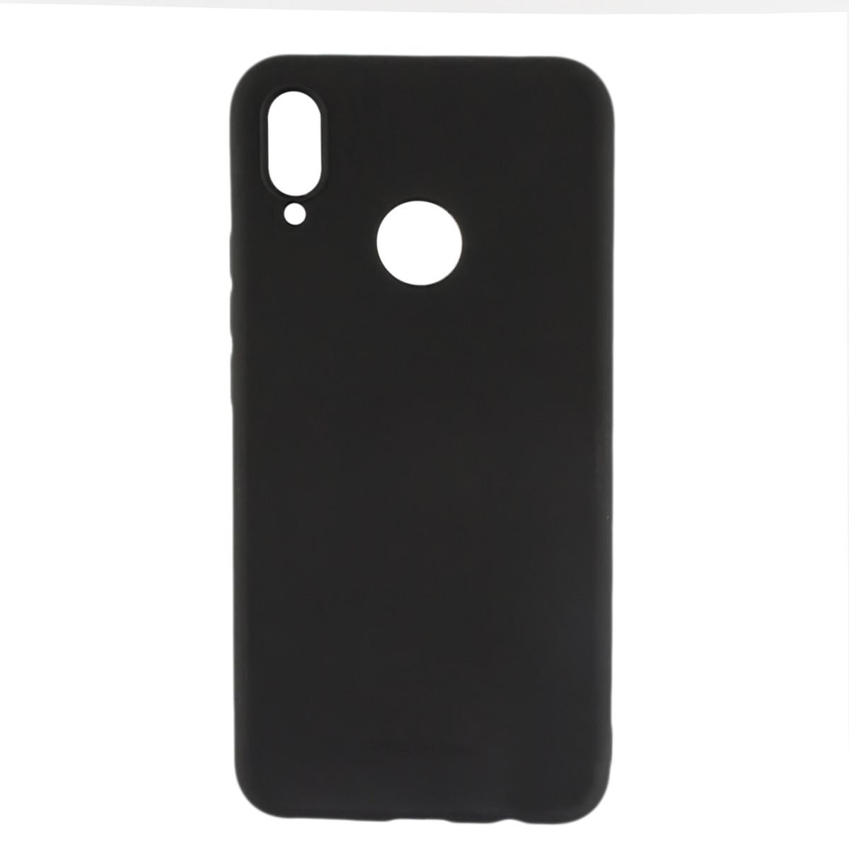 Силиконовый чехол накладка Molan Cano Jelly Case для Huawei P Smart Plus (INE-LX1) (black)