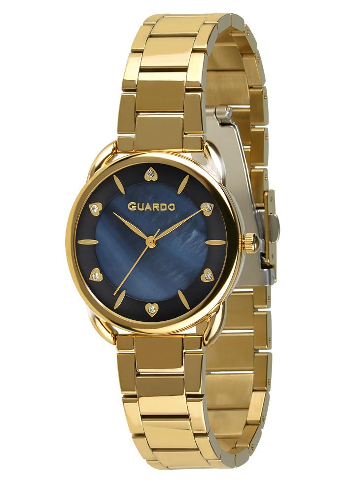 Годинники жіночі Guardo 011148-4 золоті