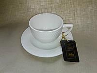 Чашка для капучино 170 мл и блюдце 1 пара Wilmax от Юлии Высоцкой WL-880106-JV/A, фото 1
