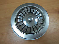 Выпуск (евро вентиль, сифон) без перелива для кухонной мойки Италия, фото 1