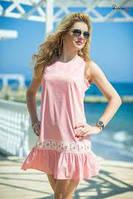 Женское платье с хлопка ТМ Bisou 7678