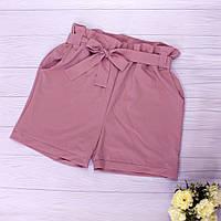 Літні жіночі шорти з високою талією