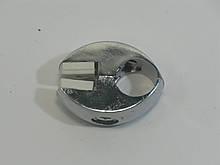 Кріплення скла до труби хромованої D25 хром GIFF R-7 система Джокер