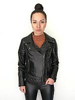 Куртка кожаная Oscar Fur 581 Черный