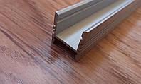 Алюминиевый профиль для светодиодных лент ЛПС17, фото 1