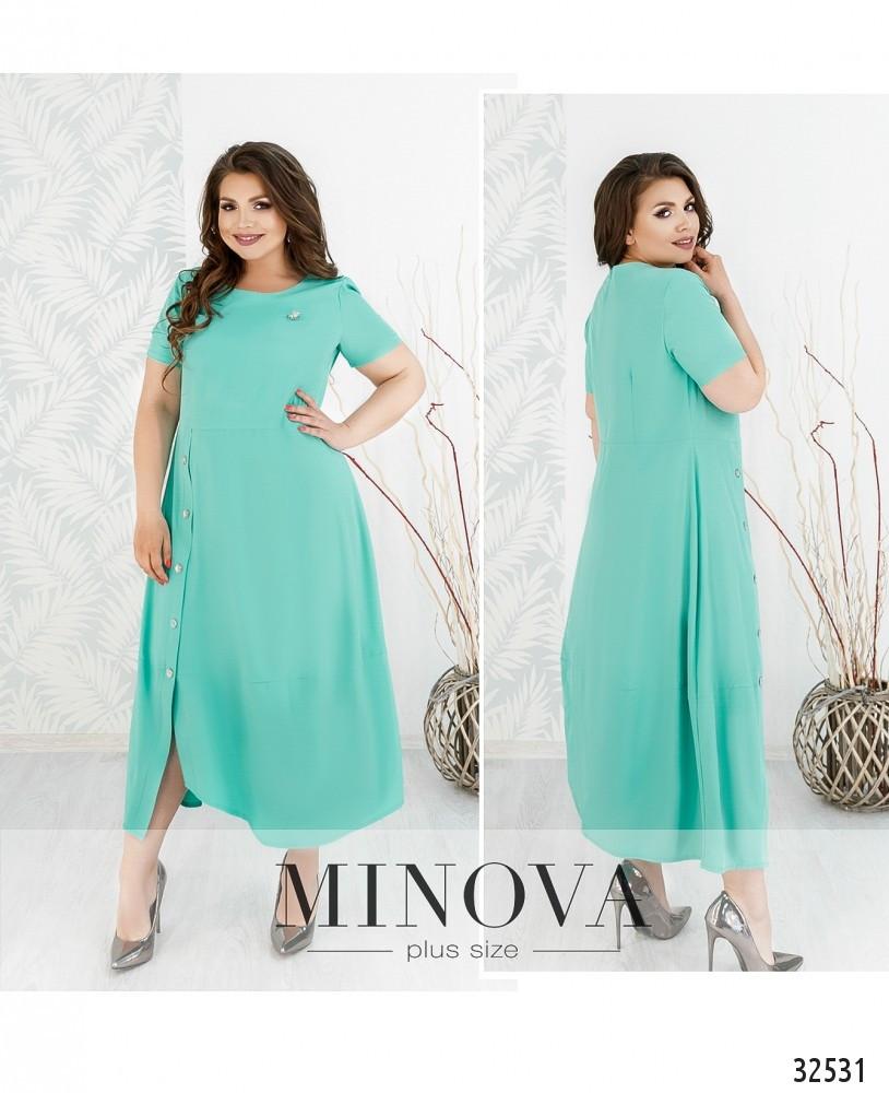 Стильное платье    (размеры 50-64)  0182-82