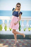 Женское платье с хлопка ТМ Bisou 7692