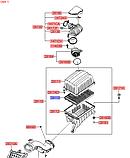 Фильтр воздушный киа Мохаве 2007-10 MG, HS01-HD026, 281132j000, фото 4