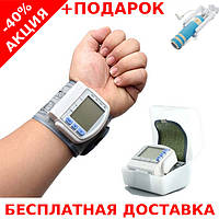 Автоматический тонометр измеритель кровяного давленияBlood Pressure Monitor + монопод для селфи