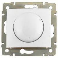 Механизм светорегулятора (диммера), 40-400 Вт для ламп накаливания/галогенных белый Legrand Valena