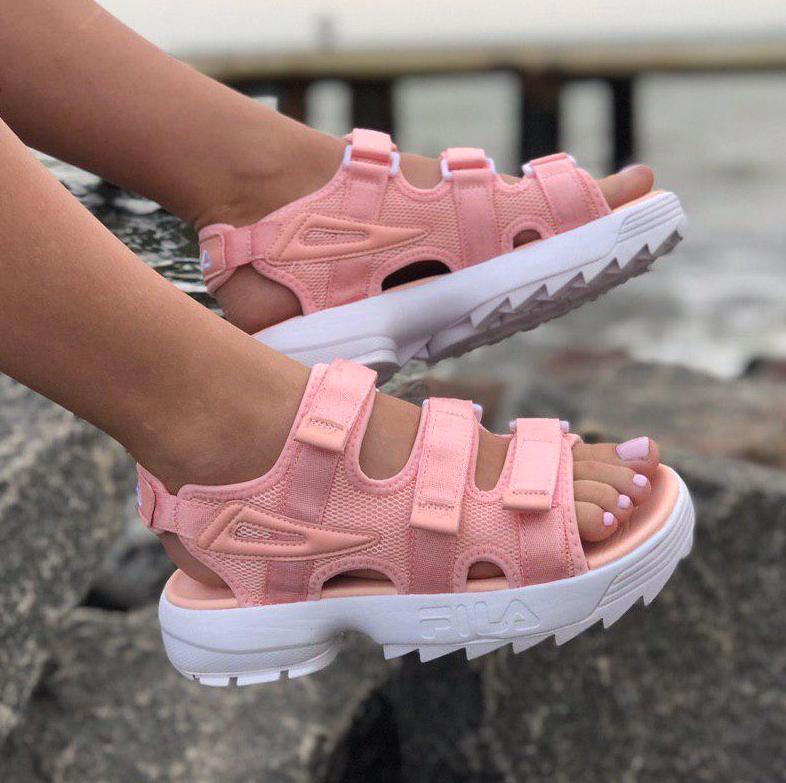 Сандалии женские Fila Disruptor Sandals (3 ЦВЕТА!), босоножки fila, женские сандалии