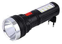 Фонарь ручной переносной YAJIA YJ-227 1w+8 led