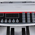 Лічильник банкнот Bill Counter 2108 c детектором UV | рахункова машинка + детектор валют, фото 2