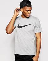 Футболка мужская Nike grey