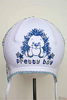 Шапочка на завязках для мальчика (38 см.)  David's Star 2125000607917
