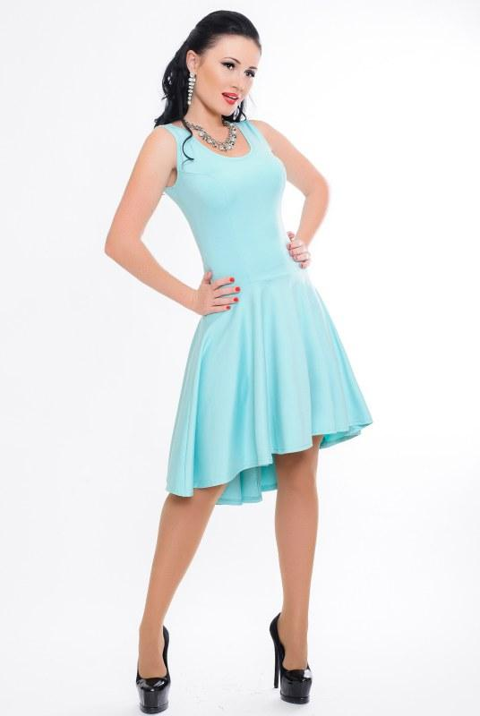 Платье Николь 46 Ментоловый (017ятыдС0180)