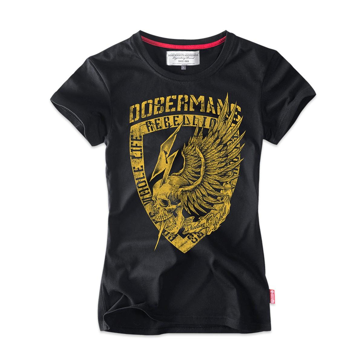 Футболка женская Dobermans Aggressive TSD164BK XL Черный (TSD164BK-XL)