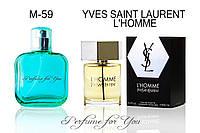 Мужские духи L'Homme Yves Saint Laurent 50 мл, фото 1
