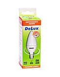 Лампа светодиодная DELUX BL37B 7 Вт 4100K 220В E14 белый, фото 2
