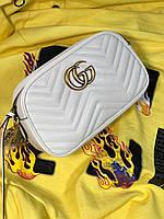 Женская кожаная сумочка  'GG Marmont' от Gucci  (реплика)