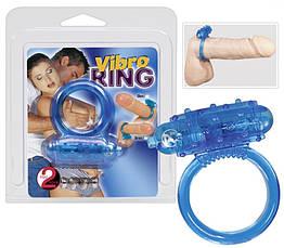 Насадка с вибрацией Vibro Ring Silikon