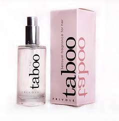 Женские духи с феромонами Taboo for Her 50мл
