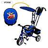 """Велосипед детский трехколесный  """"Тачки""""  1430"""