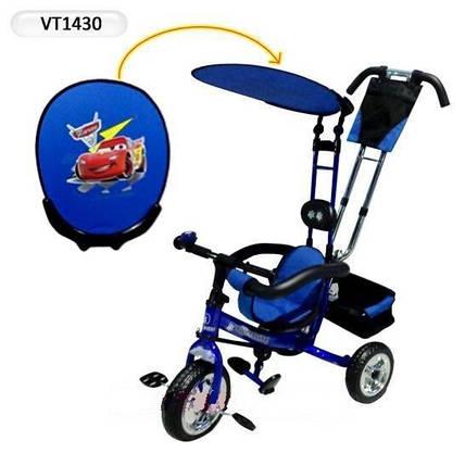 """Велосипед детский трехколесный  """"Тачки""""  1430, фото 2"""