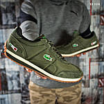 Мужские кроссовки Lacoste (зеленые), фото 3