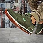 Мужские кроссовки Lacoste (зеленые), фото 2
