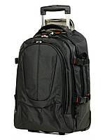 Рюкзак на колесах Airtex 560 малый 50x35x16 см 27 л Черный