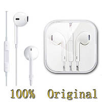 Наушники Apple earpods для iPhone 5/5s, 6/6s, 100% оригинал! На айфон