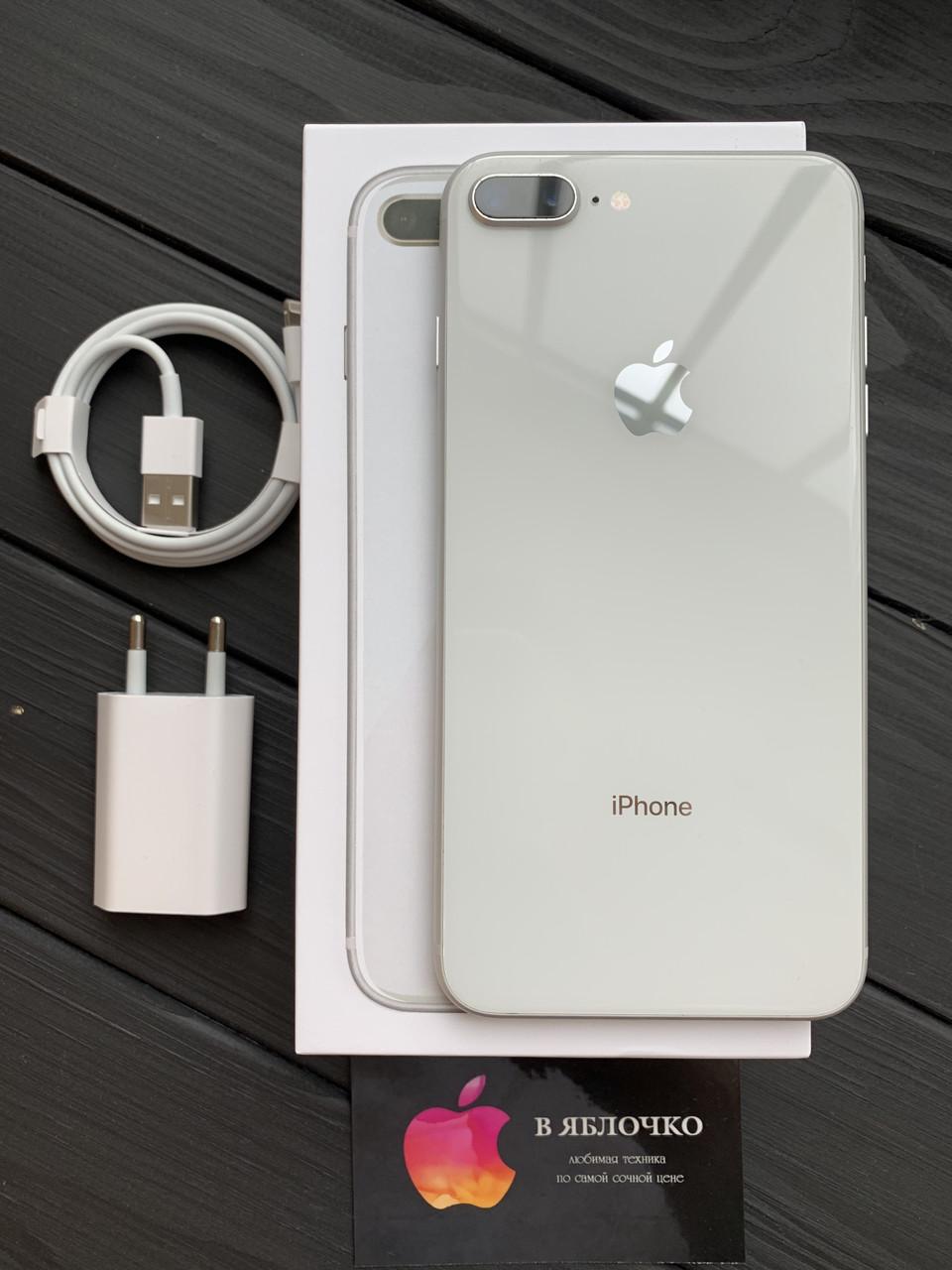 Apple IPhone 8 Plus 256gb Silver (б/у)