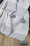 Плед-накидка вовна/бавовна 130х170 Frame Barine, фото 2