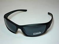 Спортивные матовые очки черная оправа 32_3_18a1