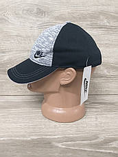 Мужская кепка, бейсболка, вышивка логотипа в стиле Nike (реплика),  размер 54-56, на регуляторе, фото 2