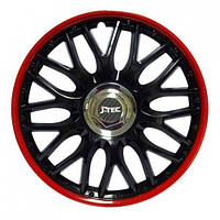 Колпаки на диски r13 J-Tec Orden Black-red