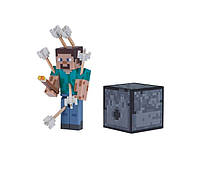 Стив со стрелами фигурка Майнкрафт / Minecraft Steve with Arrows Figure Pack