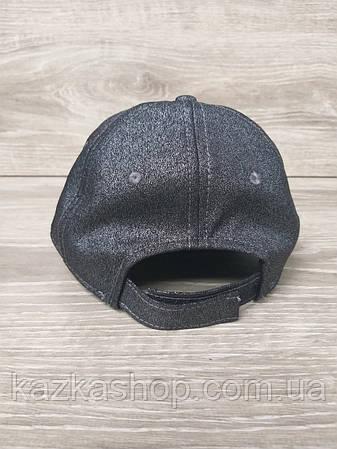 "Женская, бейсболка, кепка, из люрекса с логотипом ""Giuseppe Zanotti"", размер 55-57, на регуляторе, фото 2"