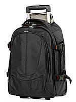 Рюкзак на колесах Airtex 560 мини 45x33x13 см 18,5 л Черный