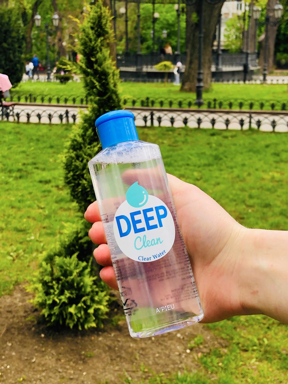 Мицелярная вода с восстанавливающим эффектом 165 мл A'PIEU Deep Clean Clear Water