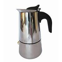 Гейзерная кофеварка A-PLUS CM-2087 на 4 чашки Кофеварка А-плюс