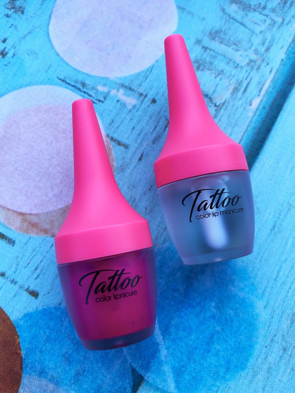 Розовый Тинт-бальзам  для губ 4 грамма  Secret Key Tattoo Color Lipnicure-02(Pink Holic)