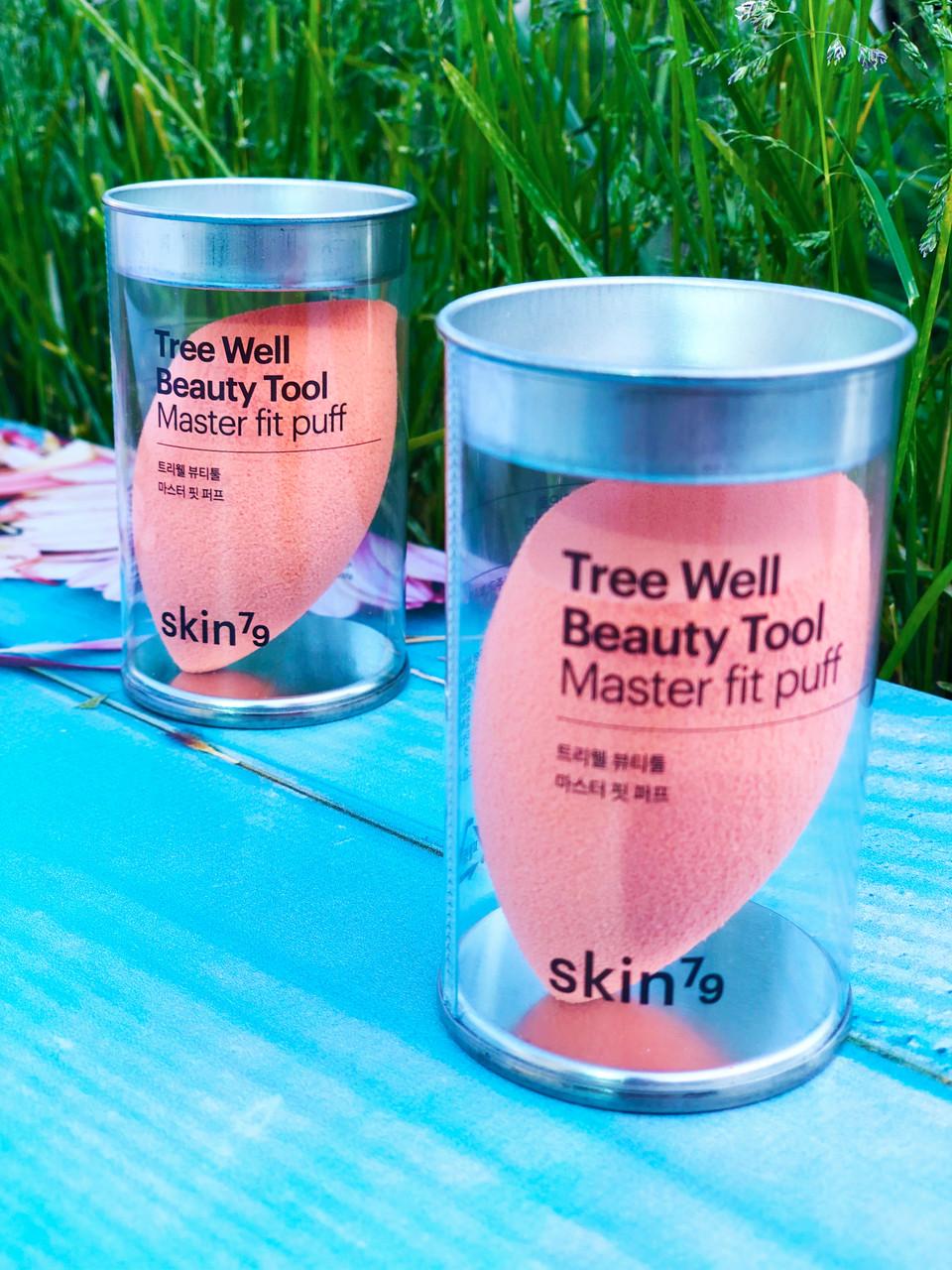 Спонж для макияжа Skin79 Tree Well Beauty Tool Master Fit Puff