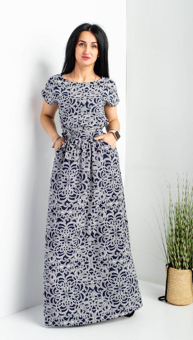 2fa0f9b36ee4 Женское Летнее Платье в Пол. Размеры 44-46. — в Категории