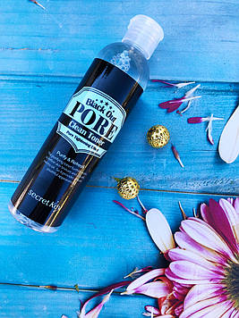 Очищающий тонер для лица 250 мл  Secret Key Black Out Pore Clean Toner
